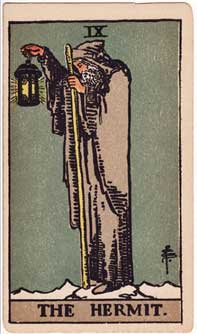daily-hermit-tarot-card